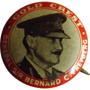 General Sir Bernard Freyberg Tin Badge