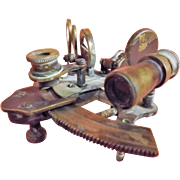 Miniature Sextant By Thos. J. Evans of London -Dated 1911
