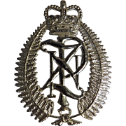 New Zealand Police  Hat Badge - Obsolete