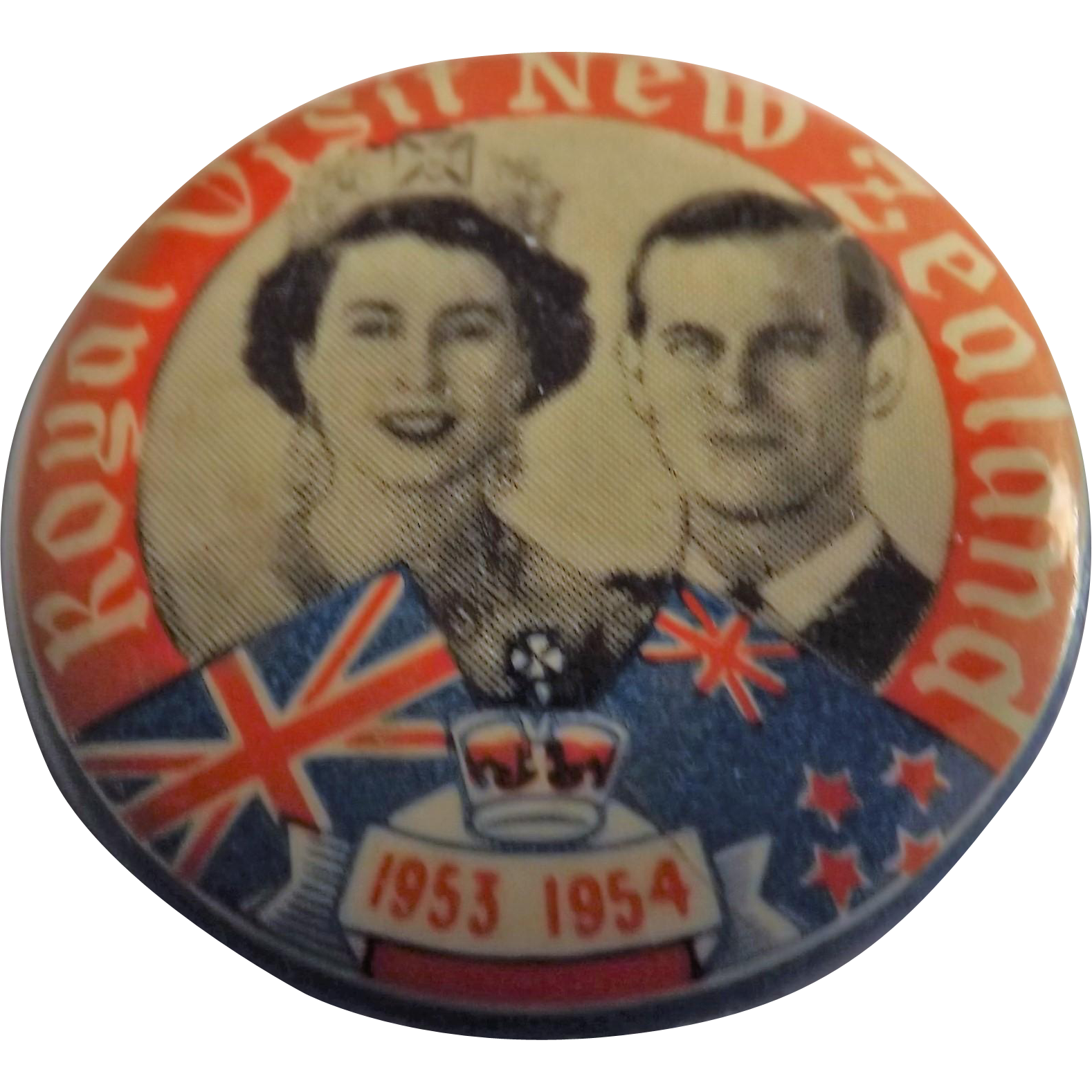 Royal Visit New Zealand 1953-1954 Queen Elizabeth & Prince Philip