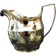 Georgian Sterling Silver Creamer - London 1807