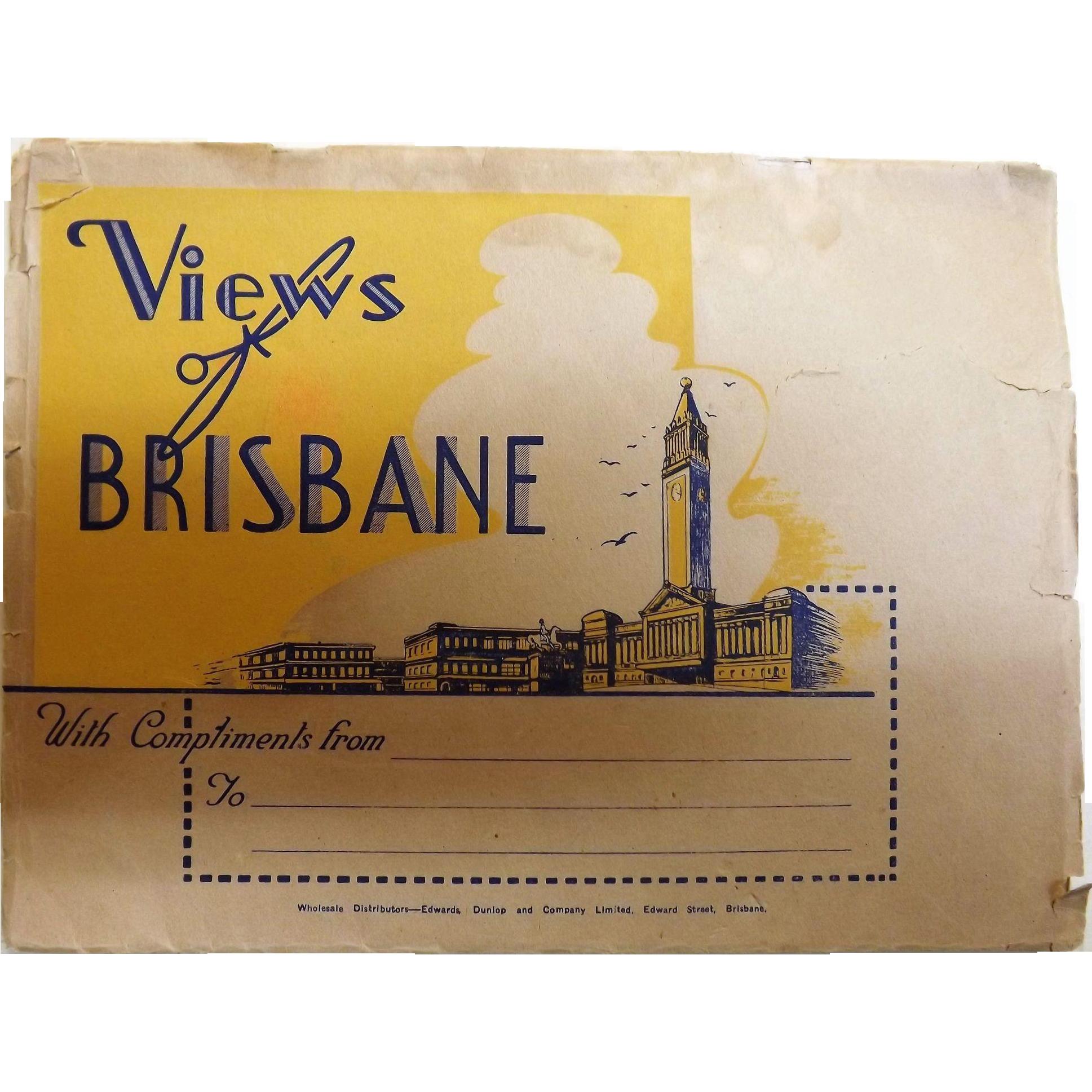 1920's Views of Brisbane