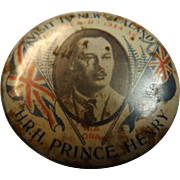 H.R.H. Prince Henry Tin badge 'Visit To New Zealand'. 1934-1935