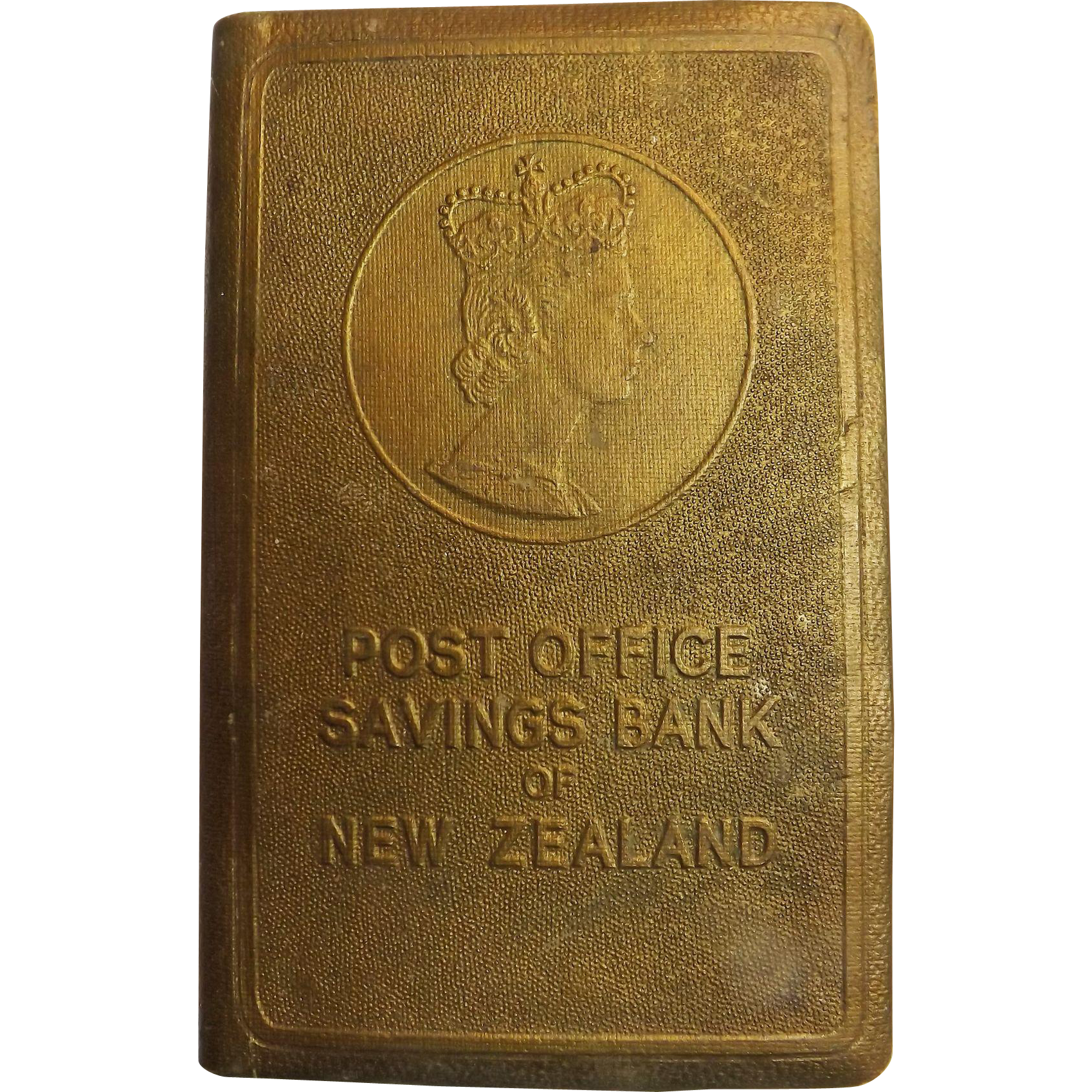 Post office savings bank of new zealand money box antique goodies ruby lane - Open post office savings account ...
