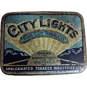 City Lights Tobacco Tin By  Amalgamated Australia