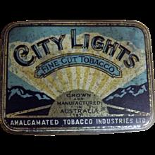 City Lights Tobacco Tin By  Amalgamated Australia