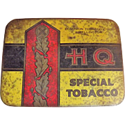 H Q Special Tobacco Tin By Dominion Tobacco Co