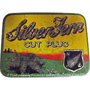 Silver Fern Tobacco Tin By Dominion Tobacco New Zealand