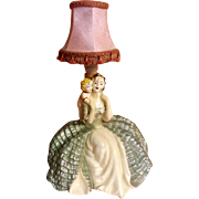 "Art Deco ""Crinoline Lady"" Table Lamp"