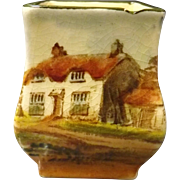 Royal Doulton Miniature Series Vase - Countryside Series 1912-1942