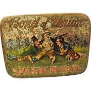Bond of Union Smoking Mixture Tin
