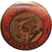 BULLDOG No.3 Toasted Navy Cut Tobacco Tin