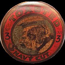 BULLDOG No.3 Toasted Navy Cut Tobacco Tin