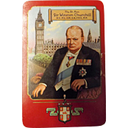 Winston Churchill Playing Cards -