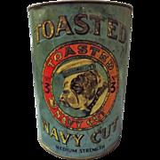 Bulldog Toasted Navy Cut No.3  - Tobacco Tin - New Zealand