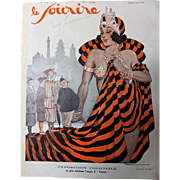 Front Page of Le Sourire Magazine  21 May 1931