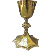 Antique Irish Silver Chalice 19th Century