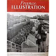 Le Jamboree De La Paix 1947- Front Cover of French Magazine L ' Illustration 16 Aout 1947