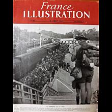 Le Jamboree De La Paix 1947- Front Cover of French Magazine L ' Illustration 16 Aout 1947