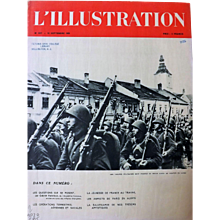 Polish Troops  In September 1939  -  Front Cover From L 'Illustration Magazine
