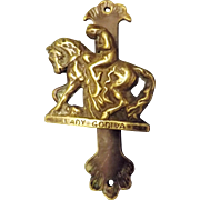 Lady Godiva Door Knocker Circa 1910-1915