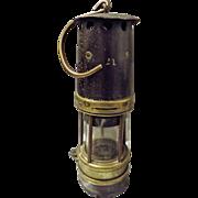 Coal Miners Lamp - Wales Circa 1900