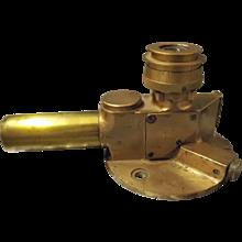 World War Two Gun Sight Dated 1942