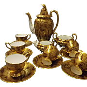 Sumptuous Royal Stafford Art Deco Coffee Set - Circa 1927