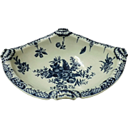 Gorgeous First Period Georgian Worcester Salad or Junket Bowl - Mid 18th Century
