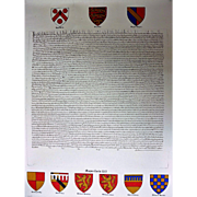 1976 Copy of the  Magna Carta