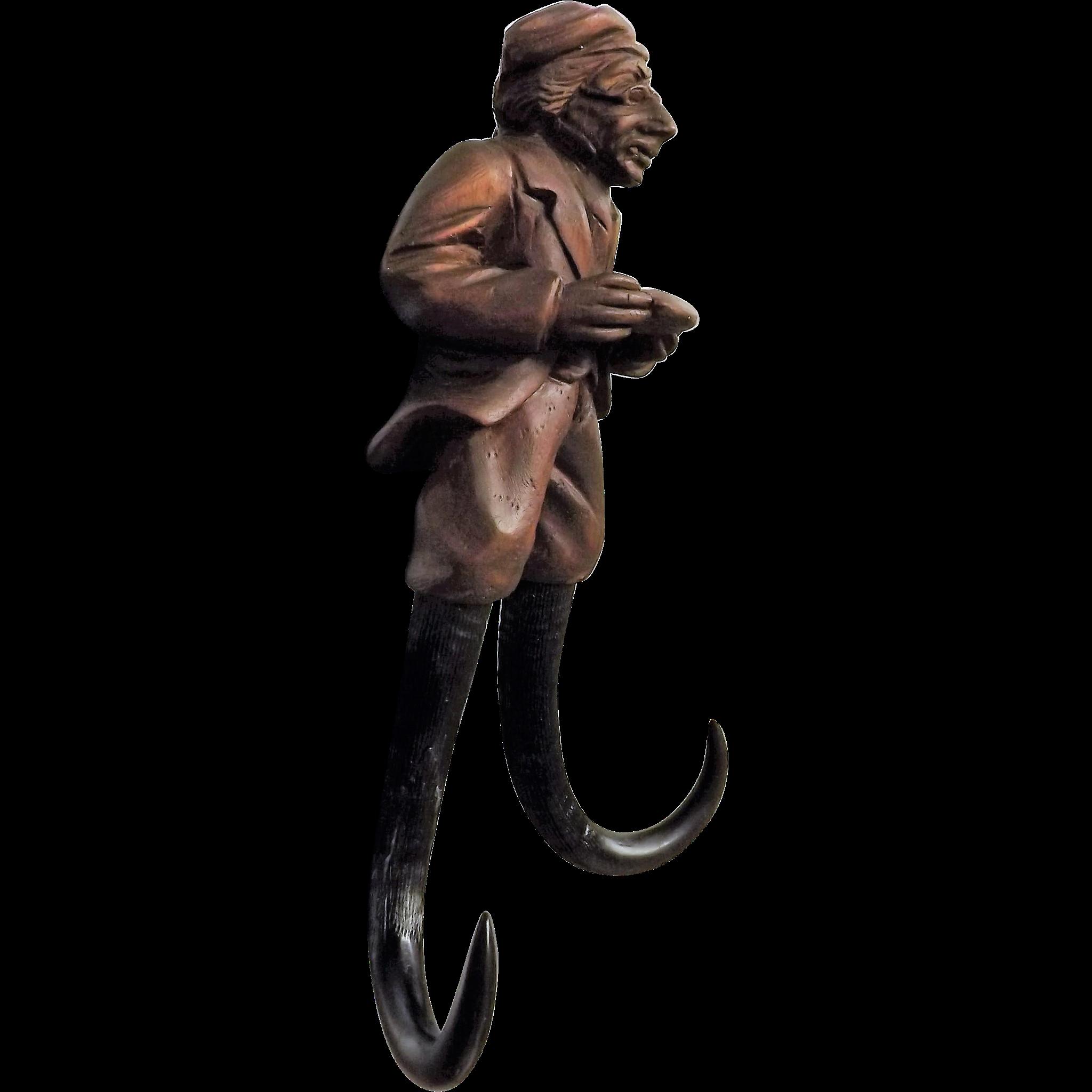 Blacvk Forest Coat Hook - Scholar /Teacher