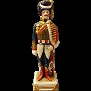 Figurine of Napoleon General Beauharnais  by Schei -Alsbach Porzelain Germany