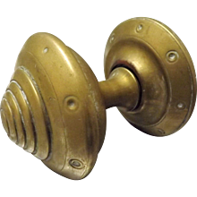 Victorian Brass Door Pull