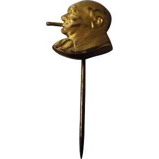 Winston Churchill Patriotic Pin - World War Two