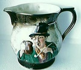"Lovely Old FALCON WARE Jug ""There Is A Tavern In The Town"" Early 1900's"