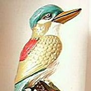"AUSTRALIANA Large Plaster Kookaburra ""Happy Jack"""