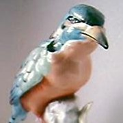 """AUSTRALIANA"" Beautiful Large Porcelain Kingfisher"