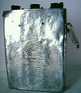 Vintage EDISON Miners Electric Cap Lamp Battery
