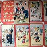 "Rare Vintage ""NODDY"" Children's SNAP Playing Cards Game."