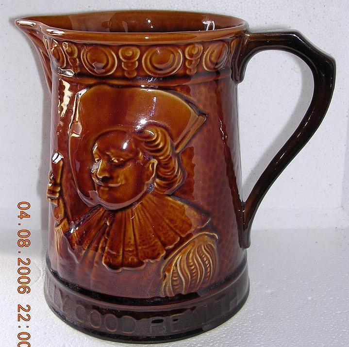 Vintage Large Falcon Ware Cavalier Jug and Tankard