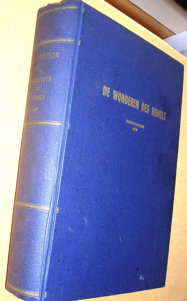 1897 Dutch Astronomy Book 'De Wonderen Des Hemels'