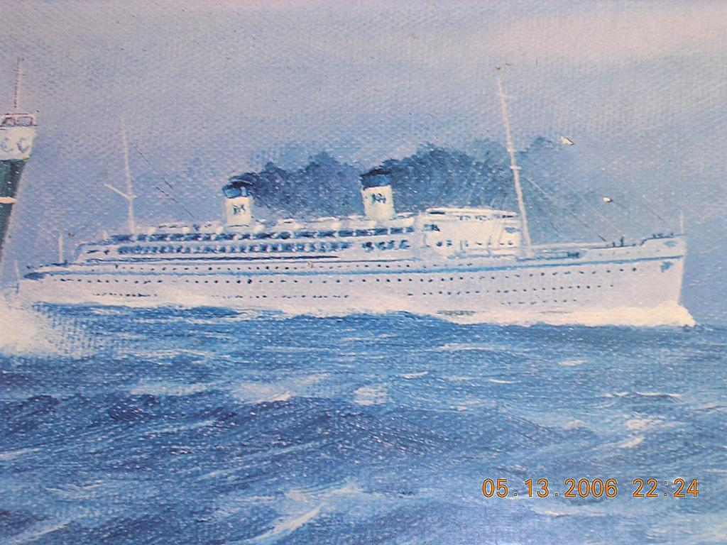 SS HOMERIC IN THE 1960s. | Cruising The Past
