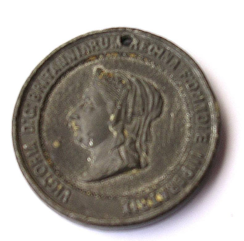 1887 Queen Victoria 50th Jubilee Commemorative Medallion
