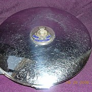 "Vintage Powder Compact "" Royal Corps Army Ordinance"""