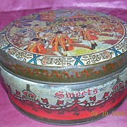 1953 Queen Elizabeth11 Coronation Commemorative Tin
