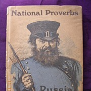 "Vintage 1913 Book ""National Proverbs - Russia"""