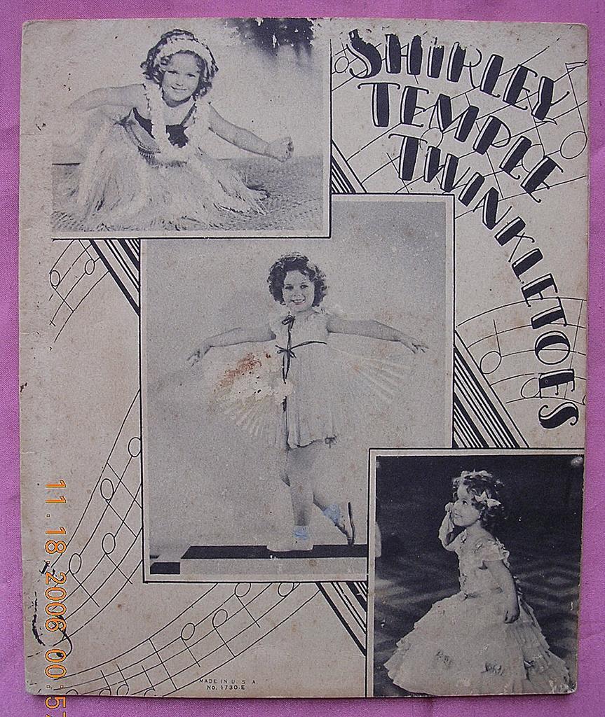 "Vintage 1934 Shirley Temple Book "" Twinkletoes"""