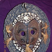 PNG Sepik River Vintage Rare Tribal Mask