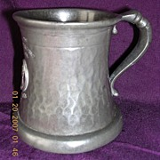 1937 Coronation Pewter Tankard King George V1