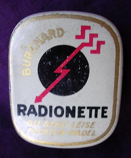 BURCHARD Radionette German Gramophone Needles